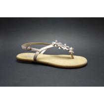 Letní vycházková obuv, Rieker, rosa