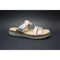 Letní vycházková obuv-pantofle, Remonte, multi