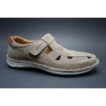 Letní vycházková obuv-flexiblová, Josef Seibel, Anvers 81, šedá