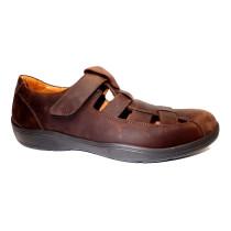 Letní vycházková obuv, Comfortabel, hnědá