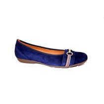 Vycházková obuv-baleríny, Gabor, modrá