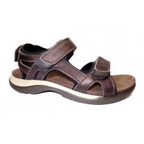 Letní vycházková obuv, Camel Active, Explorer, tmavě hnědo-černá