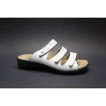 Letní vycházková obuv-pantofle, Romika, Ibiza 66, bílá