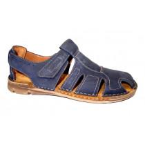 Letní vycházková obuv-flexiblová, Josef Seibel, John 07, tmavě modrá