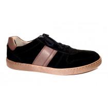 Vycházková obuv, Pius Gabor, černá/tmavě hnědá