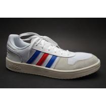 Obuv pro volný čas, Adidas, Hoops 2.0, bílo-modro-červená