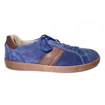 Vycházková obuv, Pius Gabor, modrá/tmavě hnědá