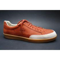 Vycházková obuv, Pius Gabor, červená/béžová