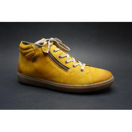 Vycházková obuv-kotníková, Remonte, žlutá