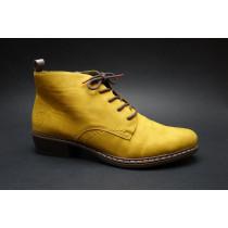 Zimní vycházková obuv-flexiblová, Rieker, žlutá