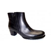 Zimní vycházková obuv-kotníková, Ara, Florenz-st, šíře G, černá