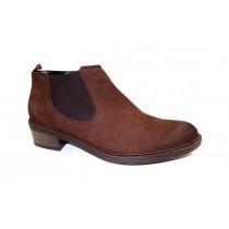 Zimní vycházková obuv-kotníková, Ara, Scottsdale-stf, šíře G, hnědá