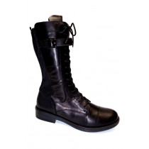 Zimní vycházková obuv-polokozačky, Remonte, černá
