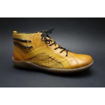 Zimní vycházková obuv-kotníková, Remonte, žlutá