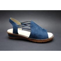 Letní vycházková obuv-flexiblová, Ara, Havaii, šíře G, tmavě modrá