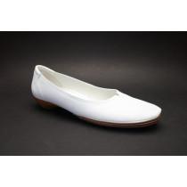 Vycházková obuv, bílo-přírodní