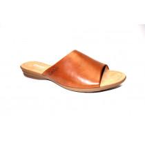 Letní vycházkové pantofle, Gabor, šíře G, přírodní