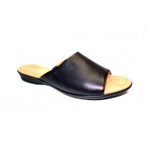 Letní vycházkové pantofle, Gabor, šíře G, černá