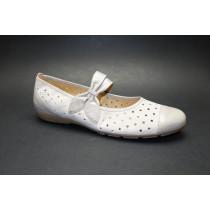 Letní vycházková obuv-baleríny, Gabor, puder