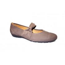 Vycházková obuv-baleríny, Gabor, kouřová