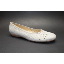 Letní vycházková obuv-baleríny, Gabor, visone