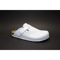 Letní vycházkové pantofle, Dr. Brinkmann, bílá