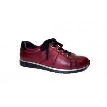 Vycházková obuv, Remonte, červeno-černá