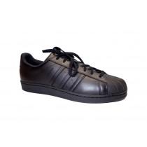Obuv pro volný čas, Adidas, Superstar Foundation, černá