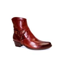 Zimní vycházková obuv-kotníková, De-Plus, šíře G 1/2, F-224 přírodní