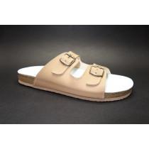 Letní vycházkové pantofle, Sázavan, béžová