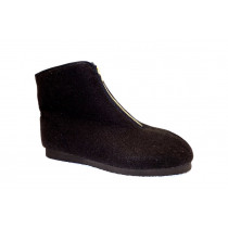 Zimní obuv pro volný čas-důchodky, Bokap, černá