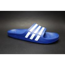 Plážová obuv, Adidas, Duramo Slide, modro-bílá