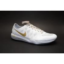 Tréninková obuv, Nike, WMNS Dual Fusion TR 3 Print, bílo-zlatá