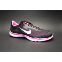 Tréninková obuv, Nike, WMNS Flex Trainer 5, černo-růžovo-stříbrná