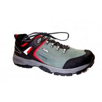 Pracovní obuv, Bennon, Salvador, černo-šedo-červená