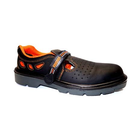 Pracovní obuv, Bennon, sandál S1 LUX, černá