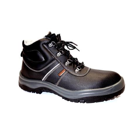 Pracovní obuv-zimní, Bennon, Basic O2 kotník winter, černá