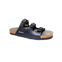 Letní vycházkové pantofle, Dr. Brinkmann, černá
