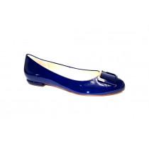 Vycházková obuv-baleríny, Högl, modrá