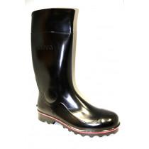 Pracovní obuv-holinky, Nora, černá