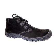 Zimní vycházková obuv-flexiblová, De-Plus, černá