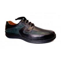 Vycházková obuv-flexiblová, Josef Seibel, Anvers 08, šíře K, černá
