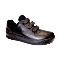 Pracovní obuv, Moleda, Prestige-welcro, šíře G, černá