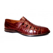 Letní vycházková obuv-flexiblová, Josef Seibel, Steven, marone