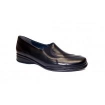 Vycházková obuv, Semler, Ria, šíře H, černá