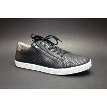 Vycházková obuv, Remonte, černo-bílá