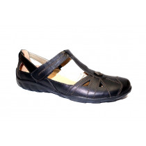 Letní vycházková obuv-baleríny, Remonte, černá