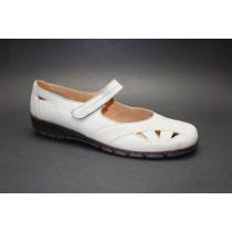 Letní vycházková obuv-flexiblová, Ara, Patras-Ang, šíře H, grigio