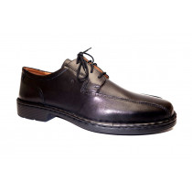Vycházková obuv-flexiblová, Josef Seibel, Burgess, šíře K, černá