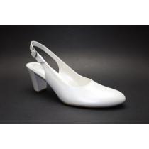 Letní vycházková obuv, Gabor, šíře G, off-white